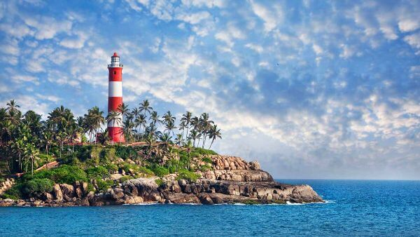 Kovalam Top Destinations for Honeymoon in India kovalam