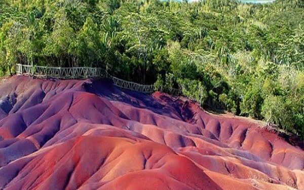 Chamarel Colored Earth Top Mauritius Attractions and Places to Visit