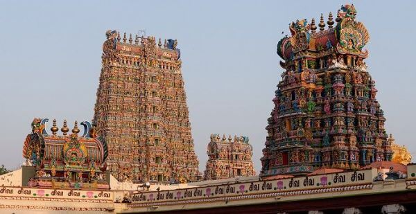 Meenakshi Amman Temple Most Famous Temples in & Around Madurai