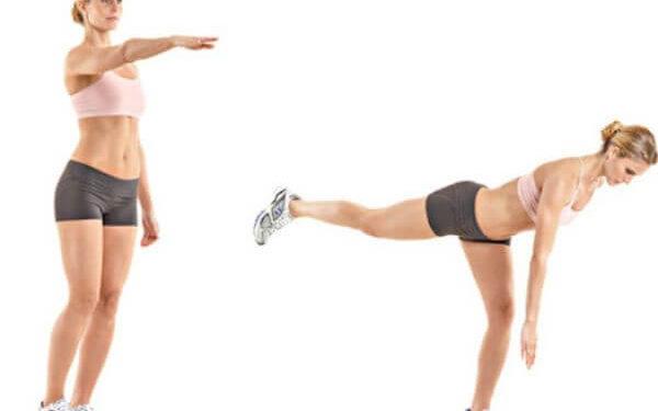 Bodyweight Balance Exercise