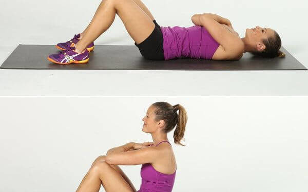Sit Ups Exercises to lose weight