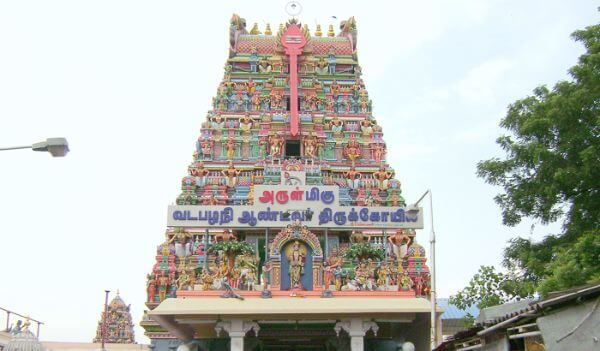 Sri Vadapalani Andavar Temple Most Famous Temples in & Around Chennai