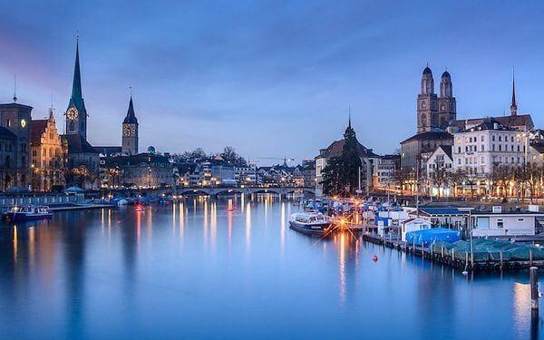 Zurich Top Destinations for Honeymoon in Europe