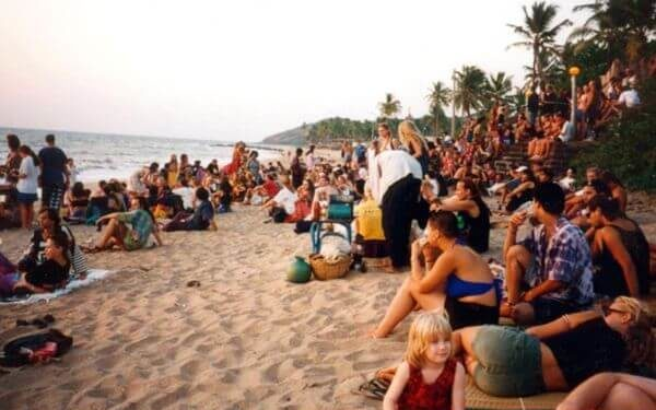 Anjuna Beach Top Goa Attractions and Places to Visit