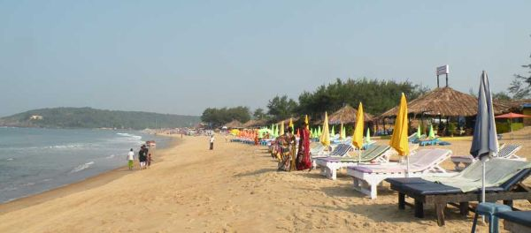 Calangute Beach Top Goa Attractions and Places to Visit
