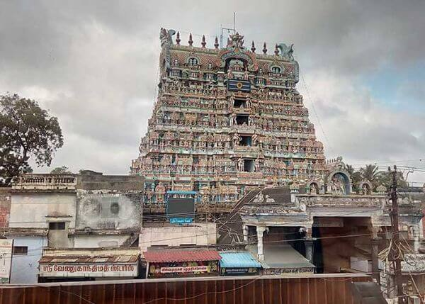 Nellaiappar Temple Most Famous Temples in Around Tirunelveli