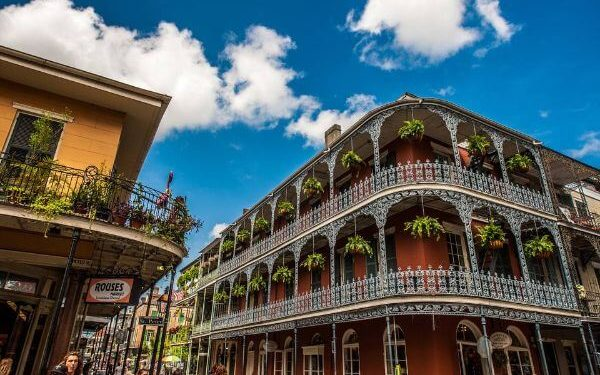 New Orleans Best places to travel with friends in USA