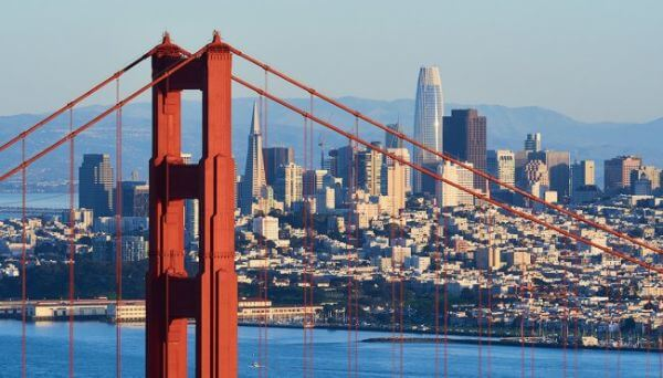 San Fransisco Best places to travel with friends in USA